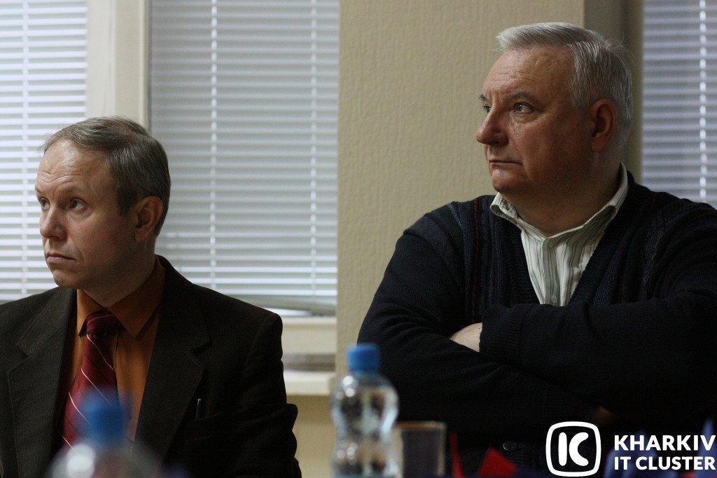"""преподаватели-НТУ-ХПИ-на-презентации-1024x682 НТУ """"ХПІ"""" представив Kharkiv IT Cluster інновації у підготовці ІТ-фахівців"""