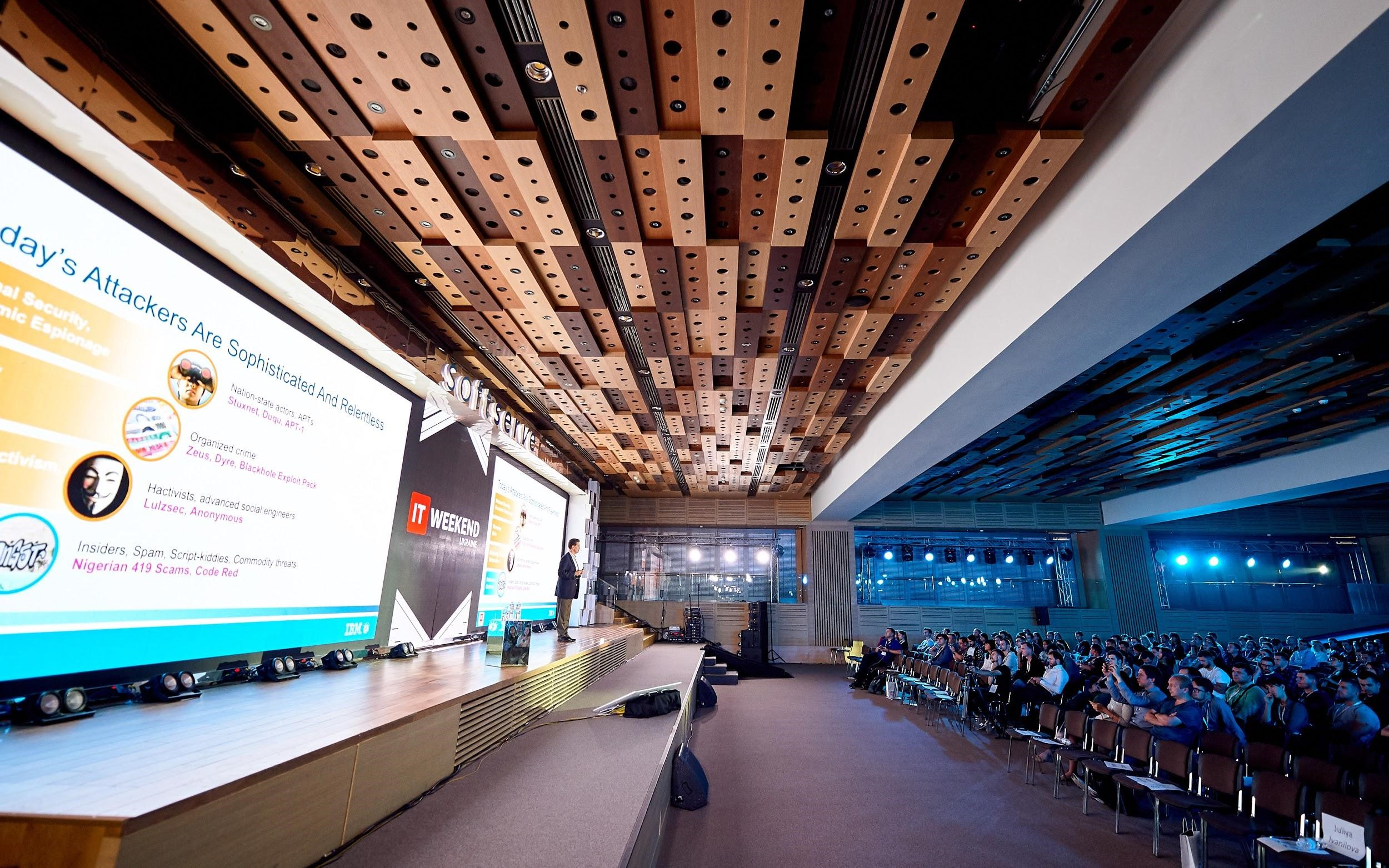 6 IT Weekend Ukraine 2017: the Future of Robots and Machines