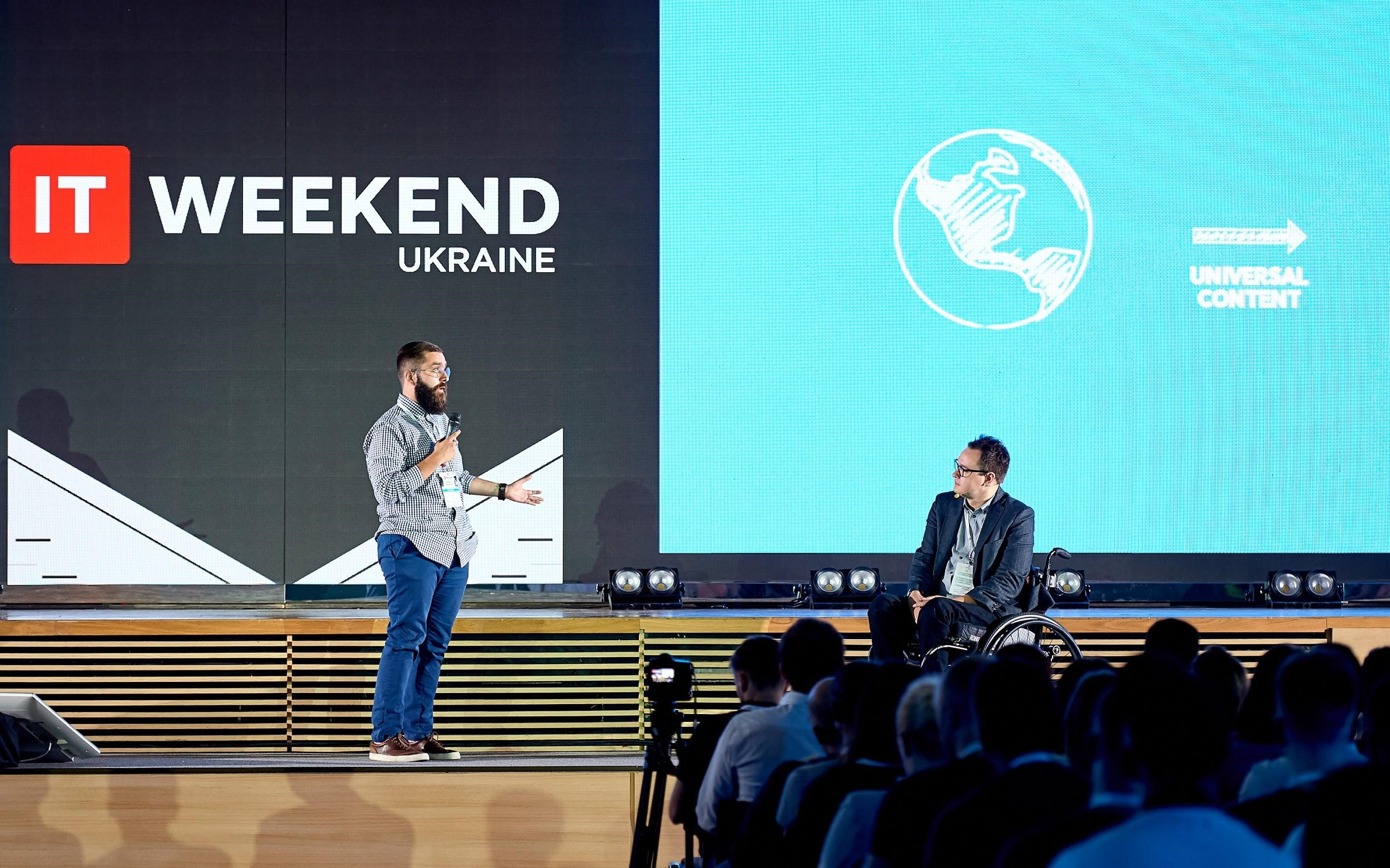 3 IT Weekend Ukraine 2017: the Future of Robots and Machines