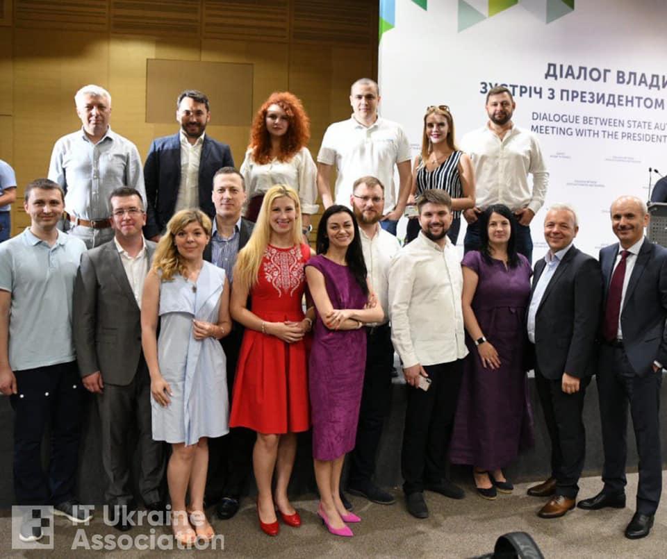 65110588_2609261215753047_6547256808971436032_n KHARKIV IT CLUSTER принял участие в форуме Президента Украины Владимира Зеленского
