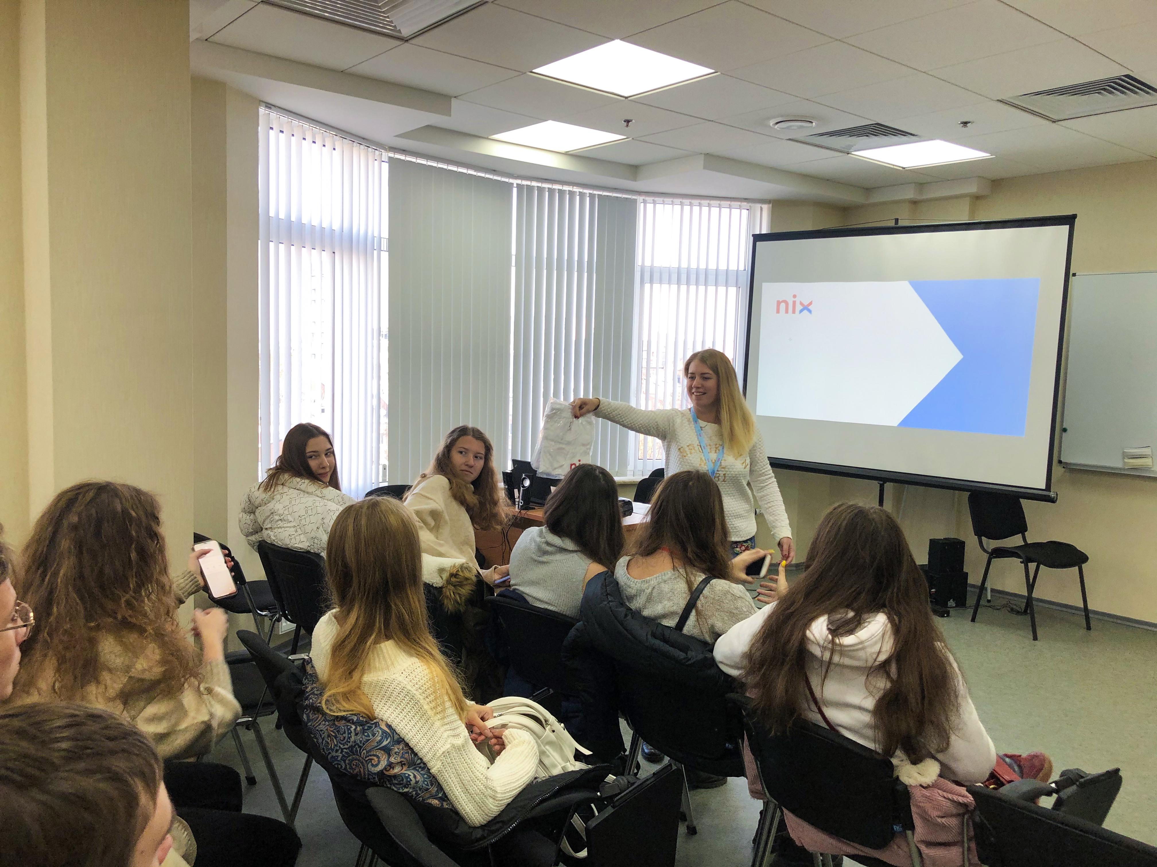 rr Kids2IT - екскурсія для школярів у компанію NIX