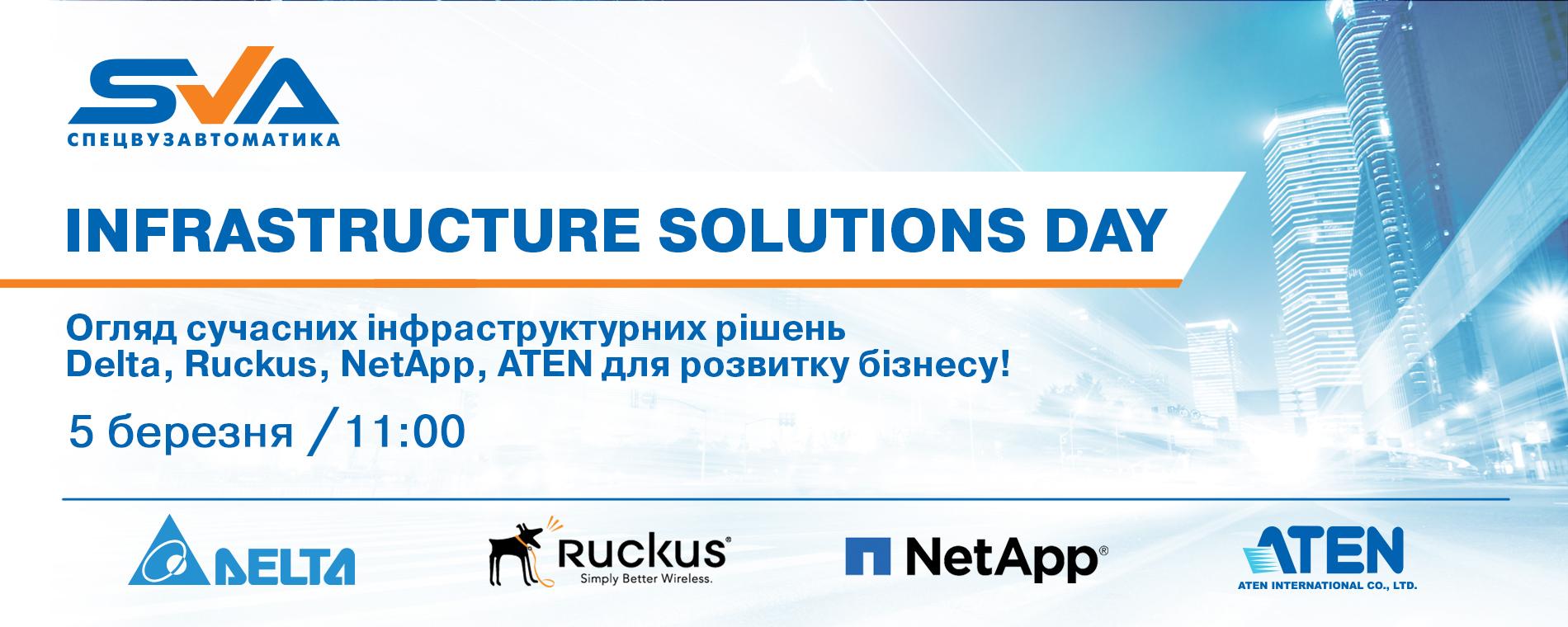 СПЕЦВУЗАВТОМАТИКА. Infrastructure Solutions Day..