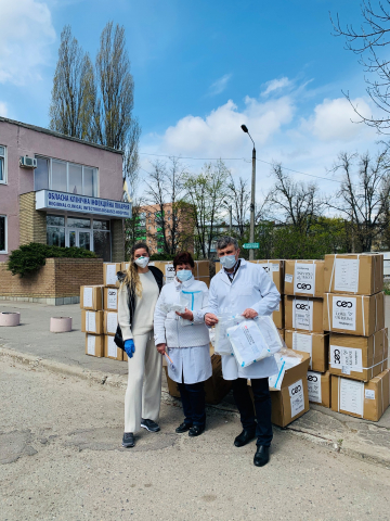 Harkiv-360x480 SoftServe has accumulated and delivered to doctors from 7 Ukrainian cities over 4 tonnes of personal protective equipment
