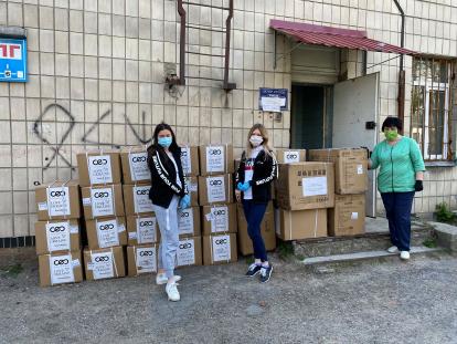 Kyyiv-414x311 SoftServe передав 4 тонни засобів індивідуального захисту лікарям у 7 містах України