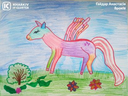 Gajdar-Anastasiya-8rokiv-414x311 Айтишка и двоичный кот: как прошел конкурс «ХА-ботик»