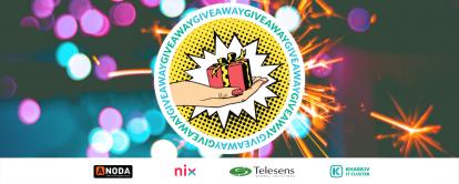 Giveaway від Kharkiv IT Cluster!