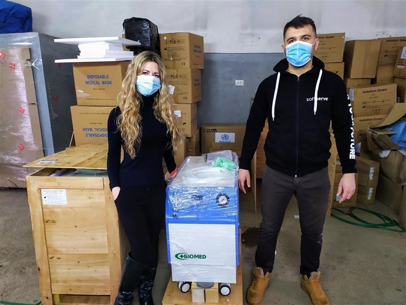 Miska-likarnya-1-CHernivetskoyi-miskoyi-rady Благодійний фонд «Відкриті очі» передав лікарням 10 кисневих концентраторів