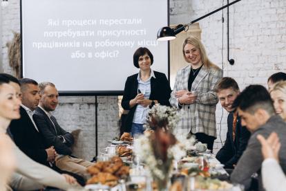 195448369_7564077420284027_5976657222941323770_n-414x276 Круасани й операційка: бізнес-сніданок із мемберами Kharkiv IT Cluster