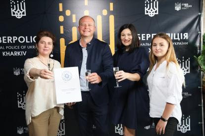 photo_2021-07-30_17-10-00-414x276 Kharkiv IT Cluster привітав Департамент кібербезпеки з дванадцятою річницею заснування!